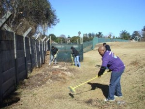 Hollard team hard at work