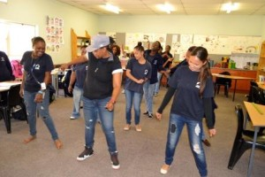 ECD candidates doing a class activity